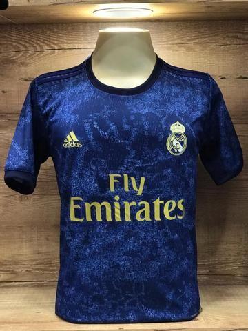 Camisetas Clubes Europeus Primeira Linha - Foto 6