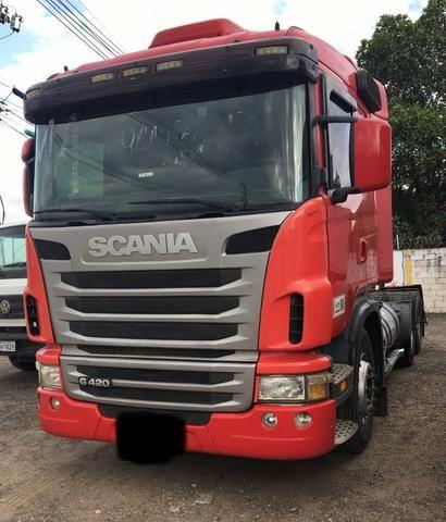 Vendo Scania G 420 A 6x4 bug leve 2011 - Foto 2