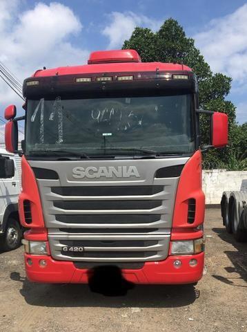 Vendo Scania G 420 A 6x4 bug leve 2011