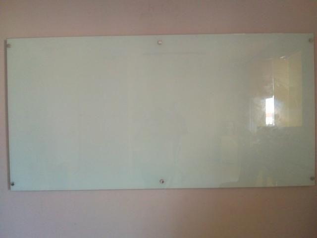 Lousa de quadro de vidro