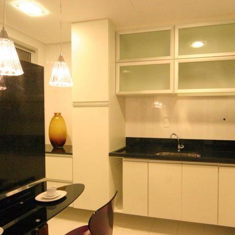 Apart 3 qts 1 suite novo lazer compl ac financiamento prox ao Buriti shop - Foto 2