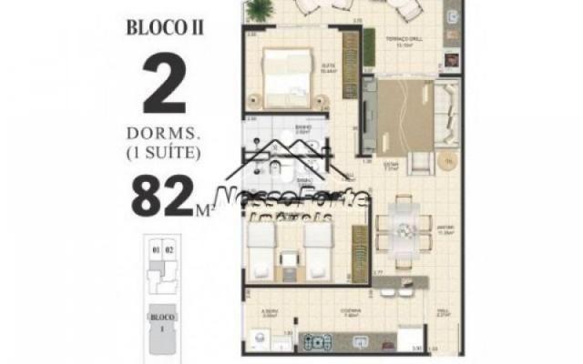 Apartamento no Centro de Mongaguá - Foto 9