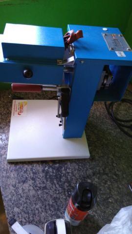 Maquina de Personalizar brinde + Material inicial