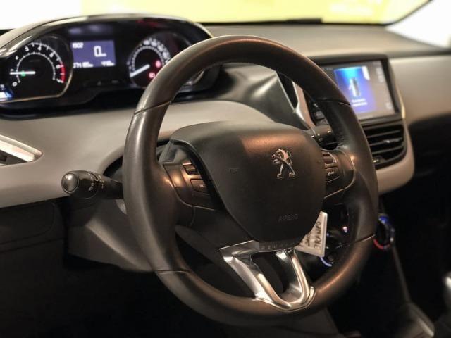 Peugeot 208 Allure 1.5 Flex Mecânico 2014 - Teto solar + GPS - - Foto 12