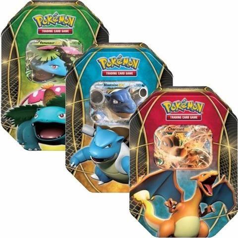 Latas com cartas Pokémon - Foto 2