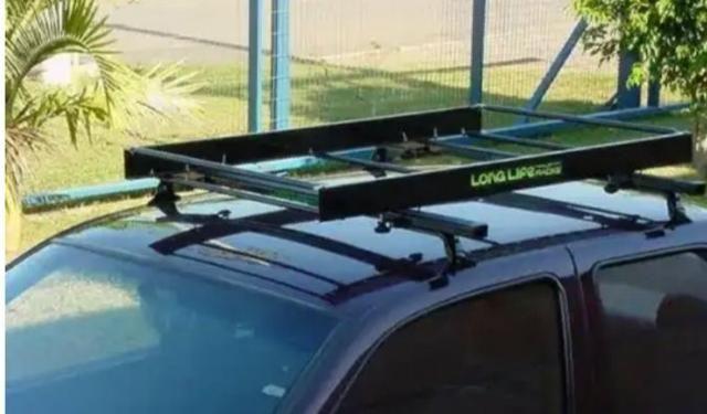 Bagageiro Universal Para Veículos Com Rack - Long Life