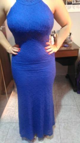 3f4a2fe151357 Vestido Festa azul - Roupas e calçados - Jardim Estrela