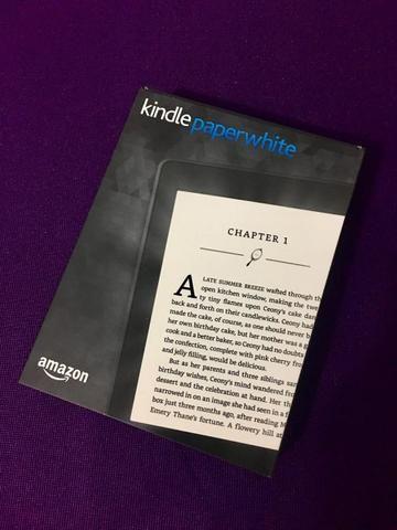 Kindle Paperwhite completo na caixa e nota - Computadores e