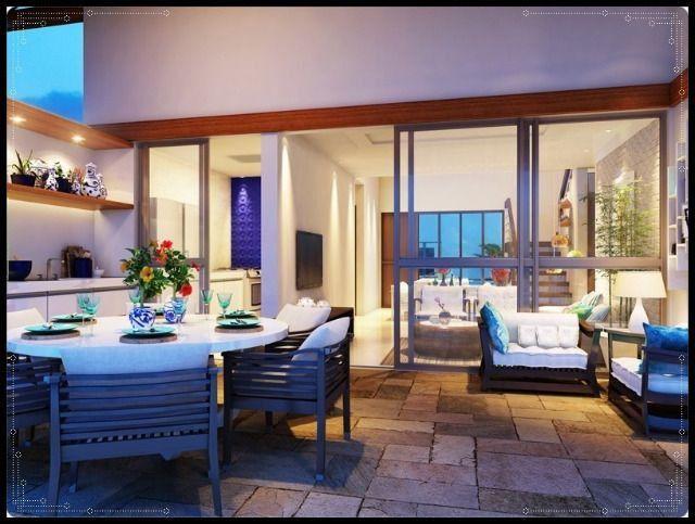 GN- Casa duplex na praia do Cupe, 4 quartos, piscina privativa, varanda gourmet - Foto 6