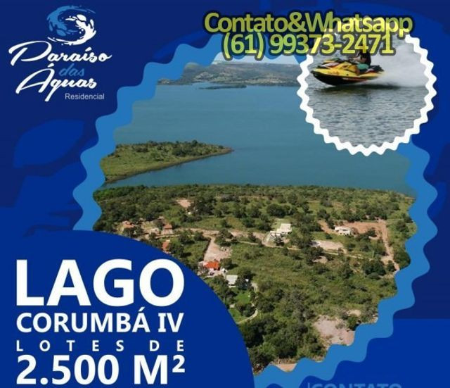 Lago Corumba IV Paraíso das Águas - Foto 2