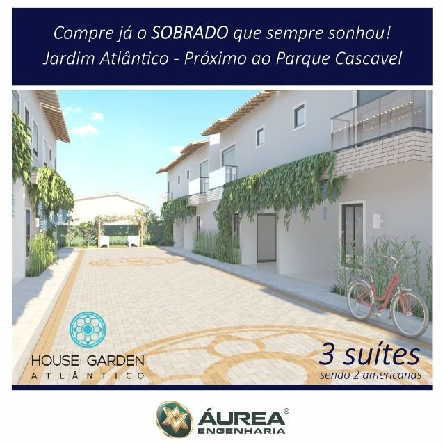 Lindo Sobrado 3/4 c 3 suites, Jardim Atlântico - Foto 13