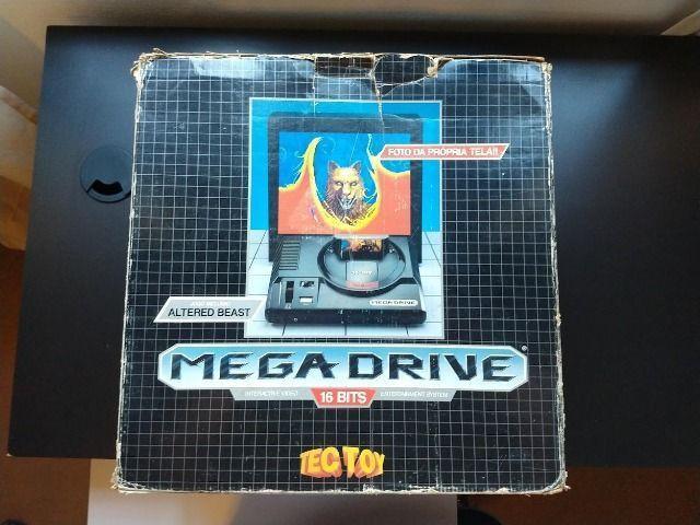 Video Game Sega Mega Drive Tec Toy para Colecionadores