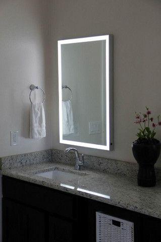 Espelho Retangular Led com Iluminação - 0,80cm x 0,60cm - Foto 4