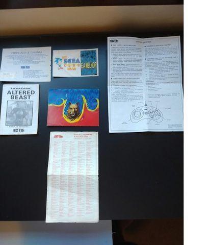 Video Game Sega Mega Drive Tec Toy para Colecionadores - Foto 5