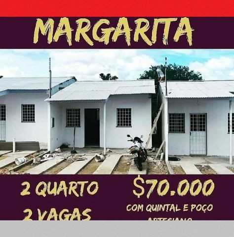 Casa Nova No Alfredo Nascimento Px Musa Pronta Pra Morar 2qrt Ac Carro qladt zqaux - Foto 2