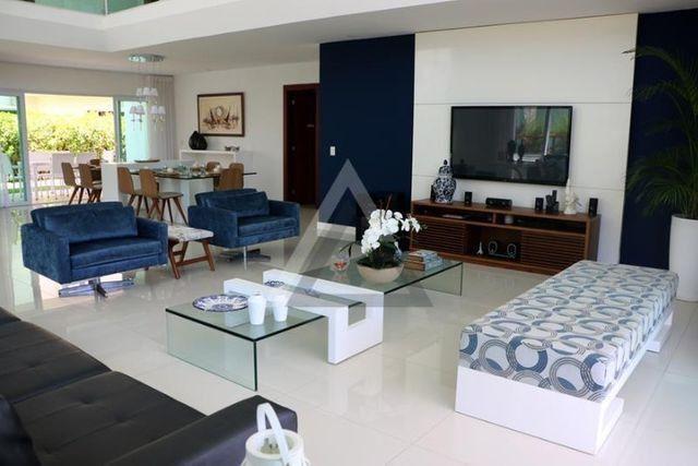 Casa de luxo mobiliada 6 quartos em Guarajuba/Camaçari-BA - Foto 9