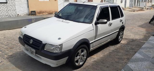 Fiat uno 2006 motor fire