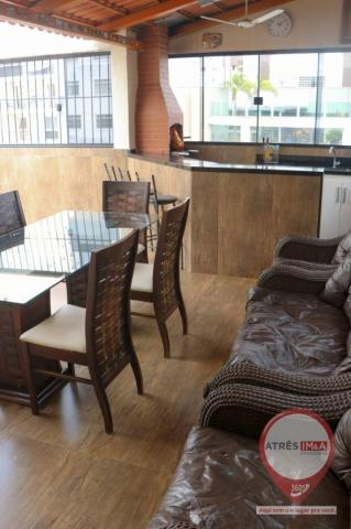 Cobertura com 4 dormitórios para alugar, 304 m² por R$ 6.000,00/mês - Setor Oeste - Goiâni - Foto 6