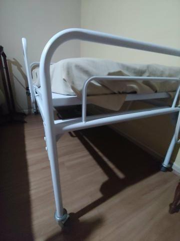 Cama reclinável com protetor e colchão massageador - Foto 4