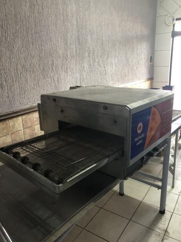 Forno esteira de pizza elétrico 220v