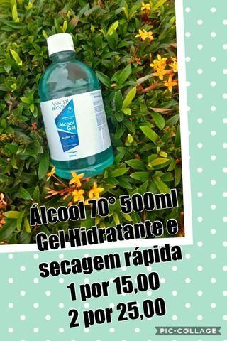 Álcool 70 Sanitizante de mãos e ambientes