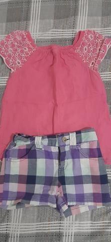 Lote de roupas de menina - Foto 4