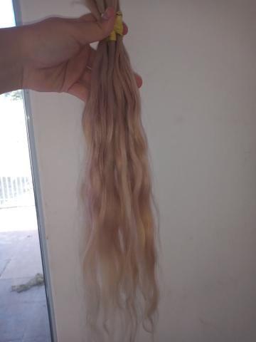 Mega hair loiro - Foto 3