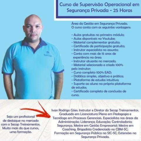 Curso Supervisor de Segurança Privada com Certificado 100% Online - Foto 2