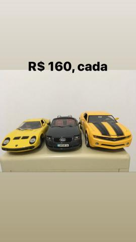 Miniaturas 1/18 a partir de R$ 160 - Foto 5