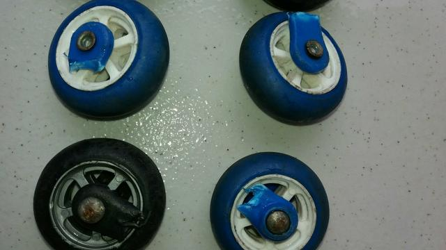 7 pares de roda de silicone - Foto 4