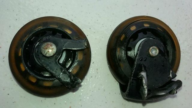 7 pares de roda de silicone - Foto 2