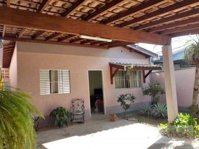 Casa com 2 dormitórios à venda, 50 m² por R$ 240.000 - Parque Nova Veneza/Inocoop (Nova Ve