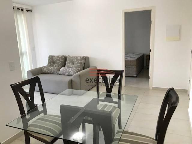 Apartamento com 1 dormitório para alugar, 57 m² por R$ 1.850,00/mês - Jardim das Colinas - - Foto 7