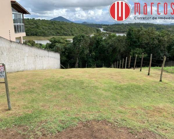 Lote de 360 m² em Meaipe com fundo para a lagoa e cercado. - Foto 2