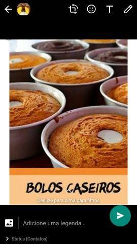Vendas de bolos com cobertura e sem cobertura - Foto 3