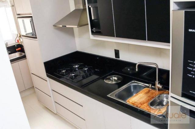 Apartamento com 2 dormitórios para alugar, 69 m² por R$ 2.400,00/mês - Jardim Chapadão - C - Foto 17