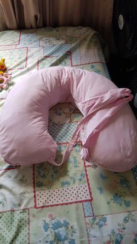 Ninho de bebê redutor de berço + Almofada de Amamentação - Foto 2