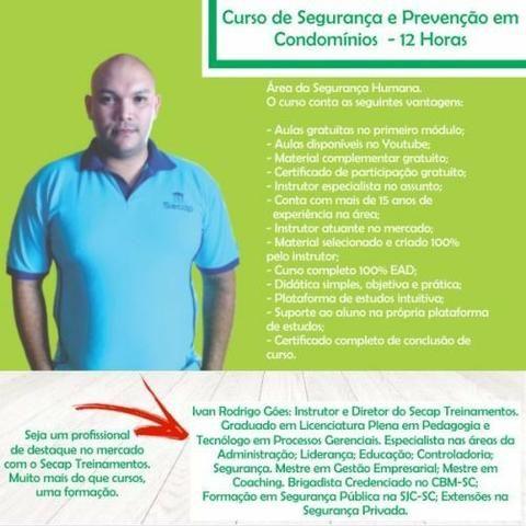 Curso Supervisor de Segurança Privada com Certificado 100% Online - Foto 4