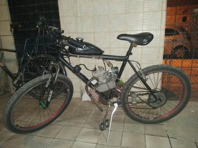 V/t bicicleta motorizada