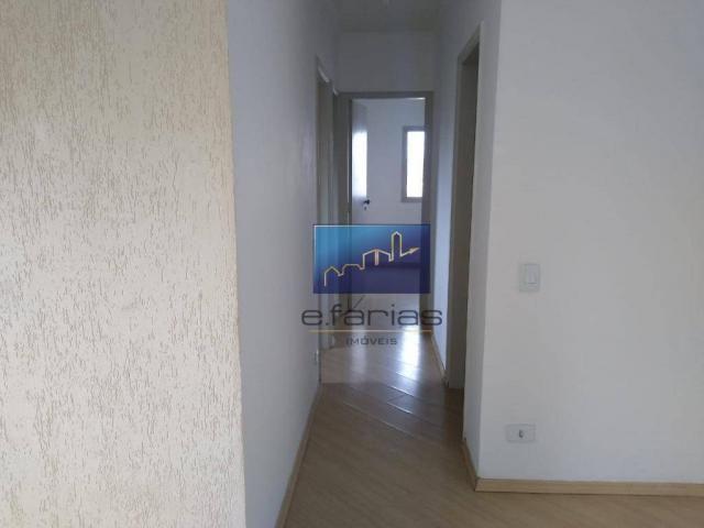 Apartamento com 3 dormitórios para alugar, 70 m² por R$ 2.500,00/mês - Vila Matilde - São  - Foto 4
