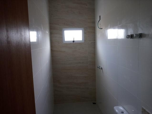Casa nova 3 quartos sendo 1 suíte, porcelanato, prox a avenida t-63, financia - Foto 6