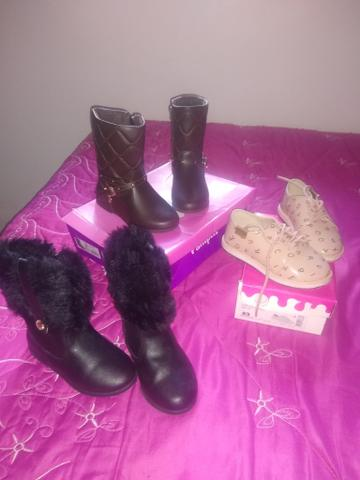 Roupas e sapatos menina - Foto 6