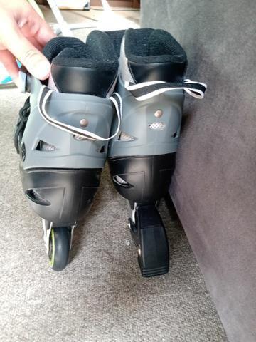 Roller patins ajustáveis - Foto 2