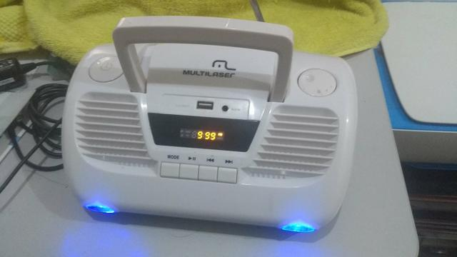 Radio Fm Digital Mp3 Boombox Multilaser Sp149