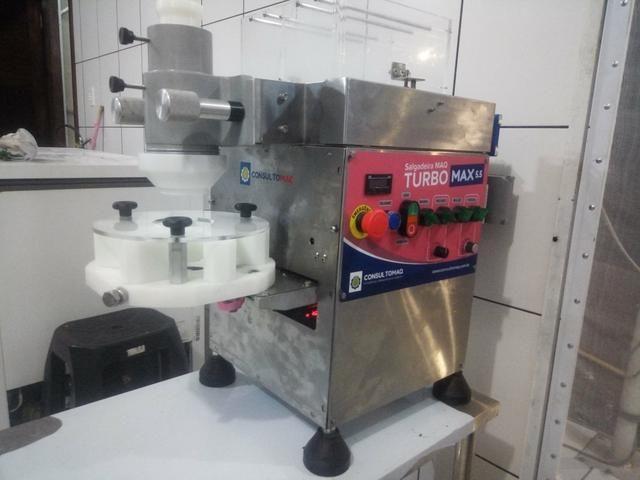 Modeladora de Salgados e docinhos, maquina de coxinhas - Foto 5