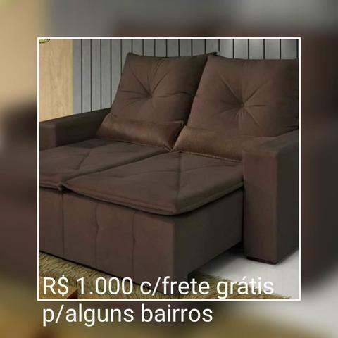 SOFÁ Retratil e reclinável Bahia/ Frete Grátis para maioria dos bairros. - Foto 4