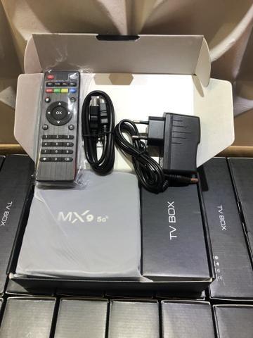Tv box 5g Wi-Fi Android 9.0 4/32gb memória - Foto 2