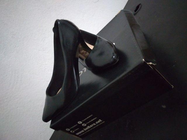 Sapato preto feminino   - Foto 4