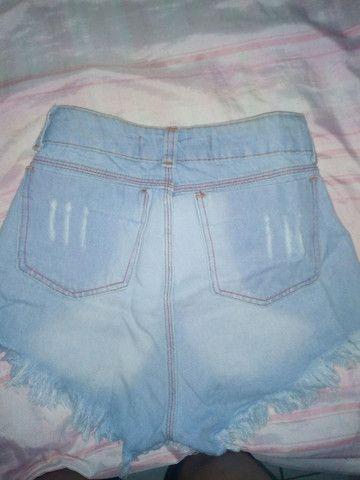 Short jeans claro - Foto 2