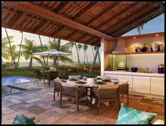 GN- Casa duplex na praia do Cupe, 4 quartos, piscina privativa, varanda gourmet - Foto 7